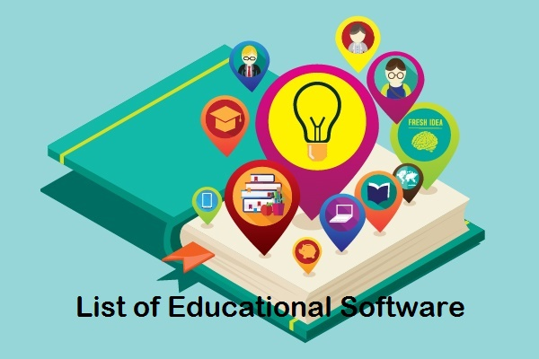 List of Educational Software